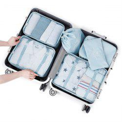 Simple Multifunctional Travel Storage Bag for Clothes and Shoes 6pcs -
