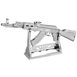 3D Metal Jigsaw Puzzle Model Toy Rifle -