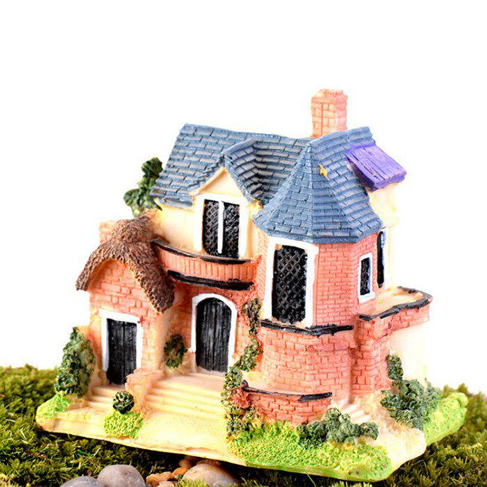 Fashion Microlandschaft Mini Resin Villa Model Toy Table Decoration Kids Gift