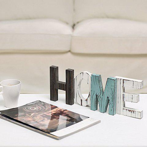 New Stylish English Word Home Table Ornament Domestic Decoration