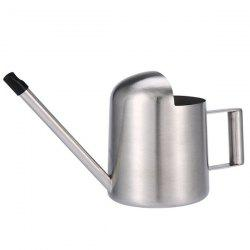 Modern Large Stainless Steel 500ml Watering Can for Garden -