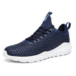 Fashionable Solid Lace-up Causal Shoes for Men -