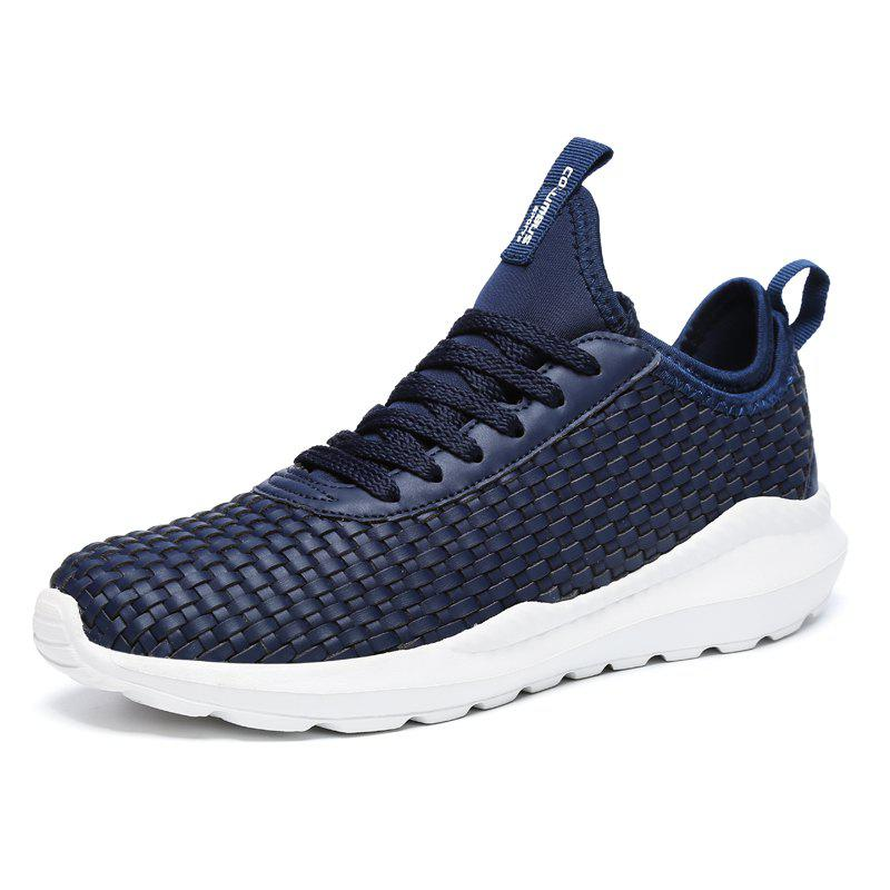 Cheap Fashionable Solid Lace-up Causal Shoes for Men