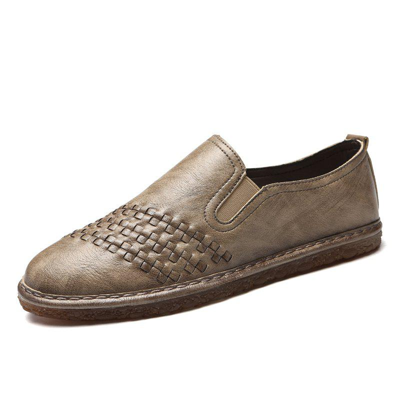 Unique Lightweight Leather Casual Shoes