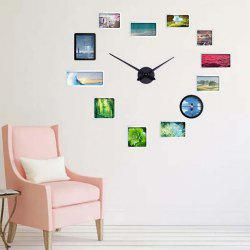 DIY Gear Mechanism Wall Clock Movement Set for Home Decoration -