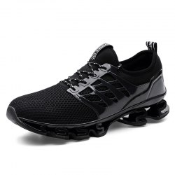 Breathable Lace-up Sports Shoes for Men -