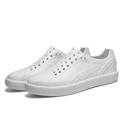 Mode Hommes Chaussures Respirantes Creux Casual -