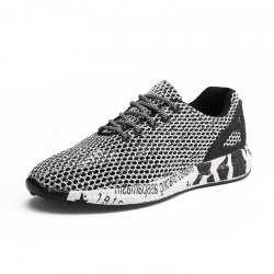 Men Trendy Breathable Lace-up Causal Shoes -