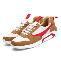 Running Non-slip Casual Microfiber Leather Shoes -