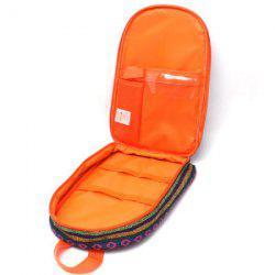 Outdoor Picnic Portable Cookware Package Ethnic Style Storage Bag -