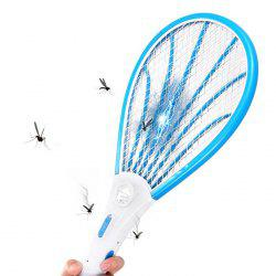 Rechargeable LED Lamp Electric Bug Mosquito Swatter -
