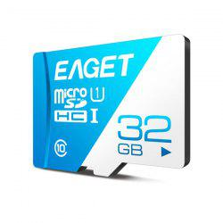 EAGET T1 Class 10 High Speed Micro SDHC UHS-I Flash TF Memory Card -