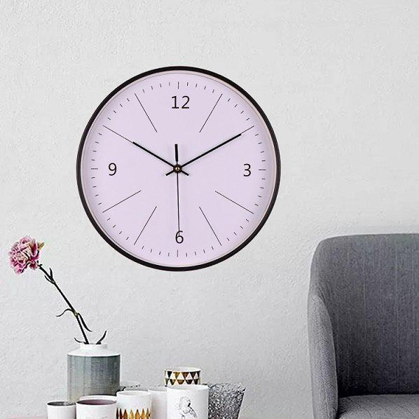 Fancy 12 inch Creative Simple Glass Wall Clock for Home Decoration