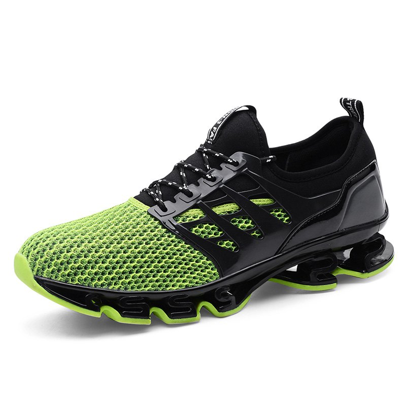 Hot Breathable Lace-up Sports Shoes for Men
