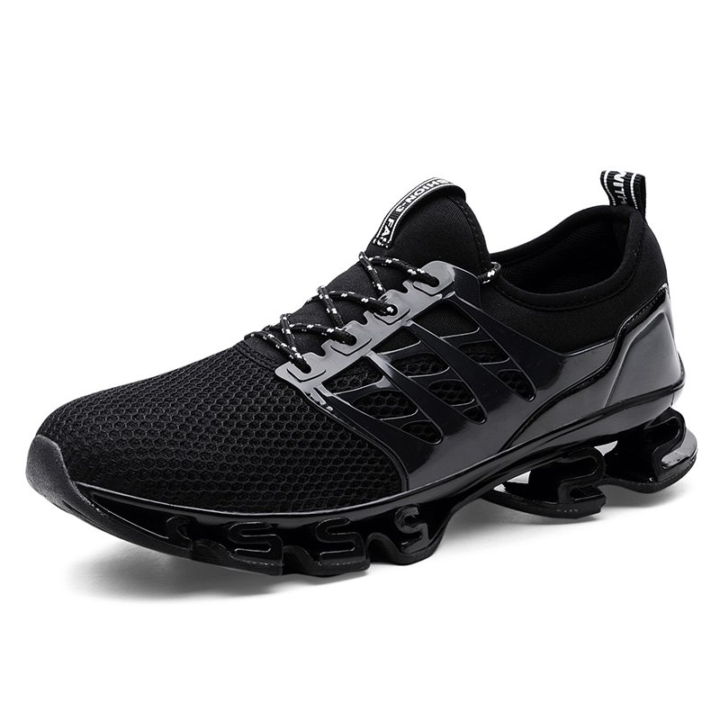 Shop Breathable Lace-up Sports Shoes for Men