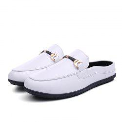 Men Lightweight Slip-resistant PU Casual Shoes -