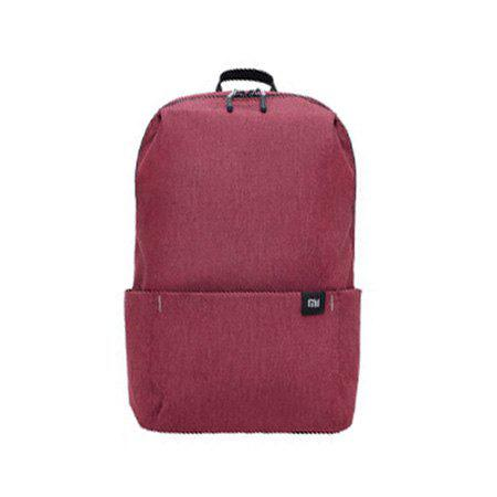 Trendy Xiaomi Solid Color Lightweight Water-resistant Backpack