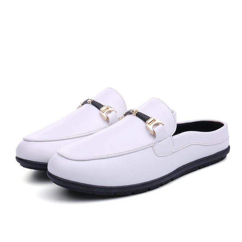 Online Men Lightweight Slip-resistant PU Casual Shoes