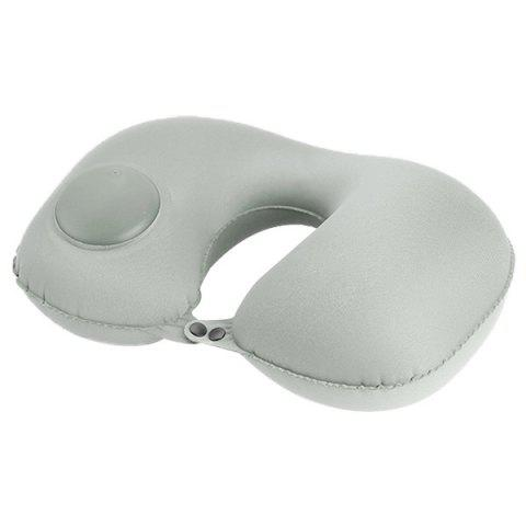 Light Gray Multifunctional Casual Office Inflatable Pillow
