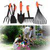 Mini Hoe with Three-rake for Garden Farm Courtyard -