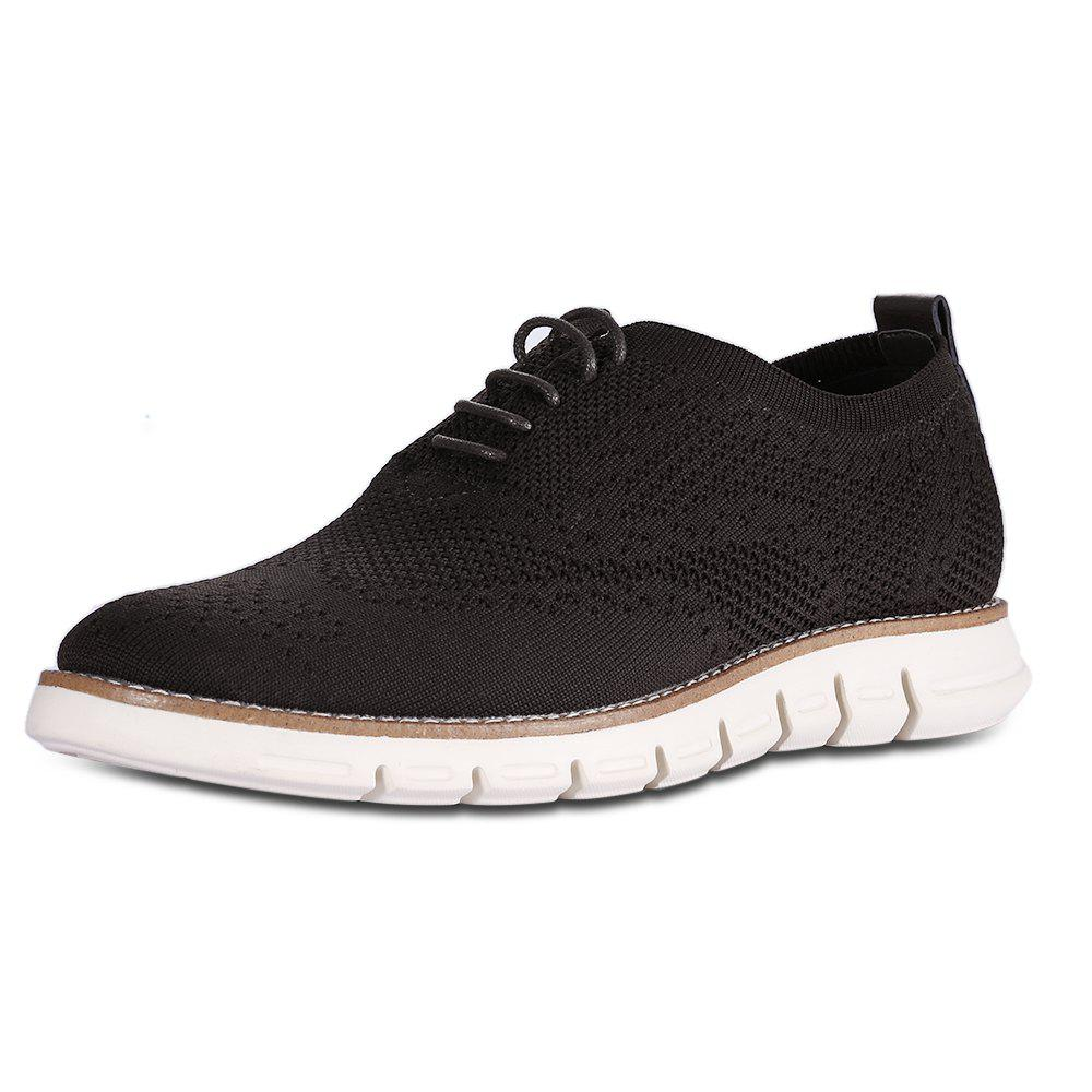 Shop Men Comfort Knitted Casual Shoes