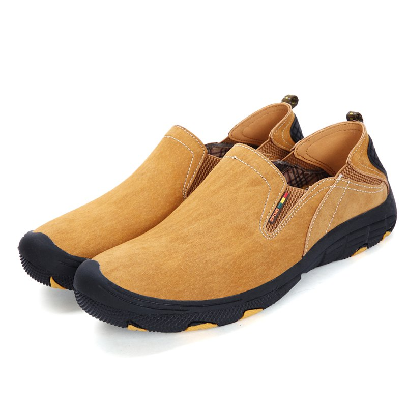 Discount Men Comfort Daily Leather Casual Shoes