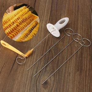 Hand-operated Potatoes Spiral Blade Cutting Tool -