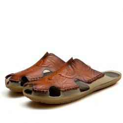 Men Lightweight Water-resistant Breathable Casual Slippers -
