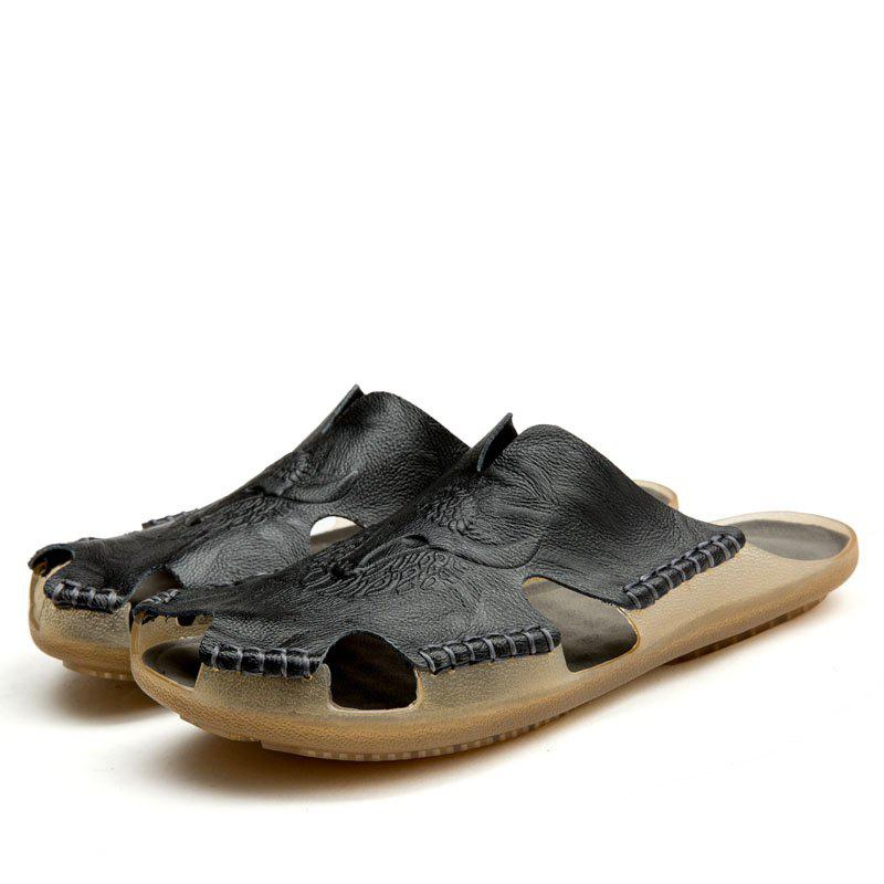 Shop Men Lightweight Water-resistant Breathable Casual Slippers