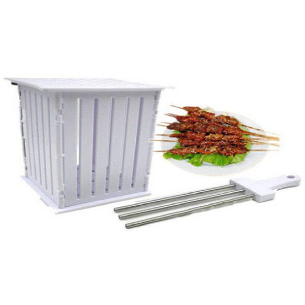 Unique Barbecue Skewers Tool with 36 Holes