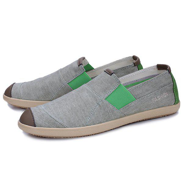 Chic Men Outdoor Breathable Canvas Casual Shoes