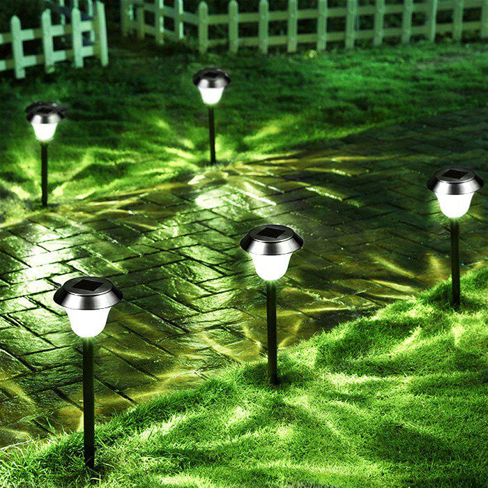 Shop Solar Powered LED Ground Lamp Waterproof Outdoor Lights for Yard Driveway Lawn Pathway 2PCS
