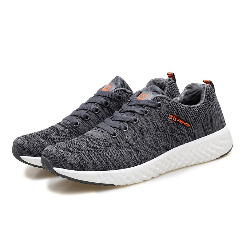 Chic Men Rubber Sole Breathable Comfort Casual Shoes