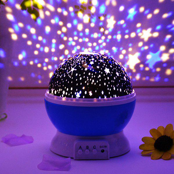 Fancy LED Auto Rotating Starry Projection Lamp Night Light