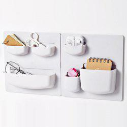 Space-saving Wall Board with Storage Pockets for Kitchen Bathroom Living Room Bedroom -