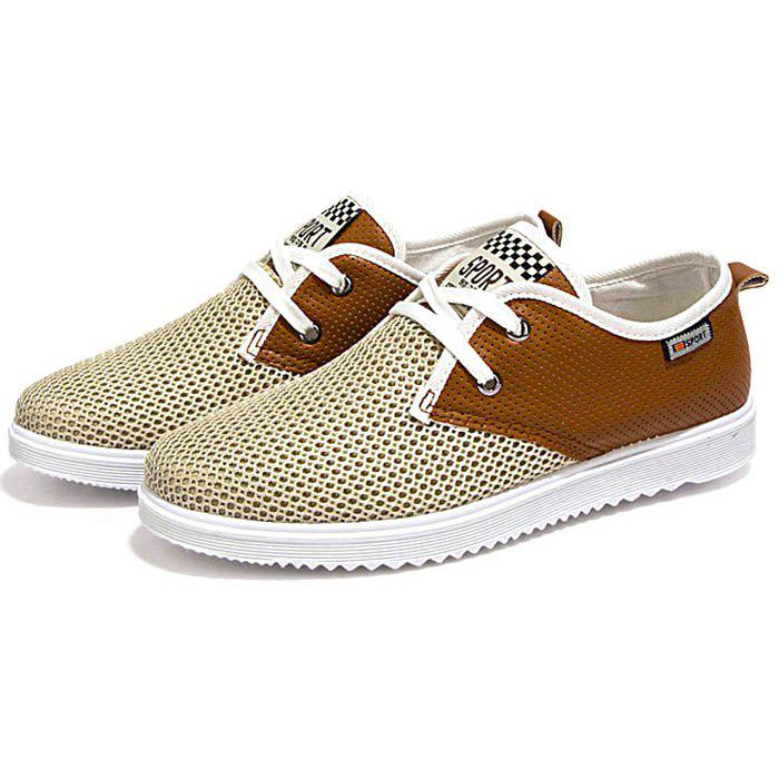 Chic Men Fashion Breathable Mesh Casual Shoes