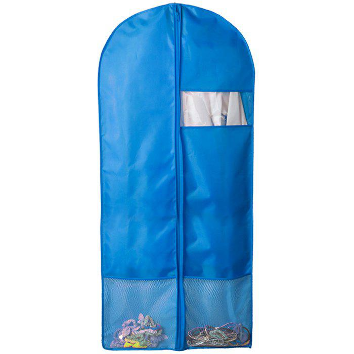 Discount Breathable Dust-proof Garment Bag Environmental Zipper Clothing Storage Cover