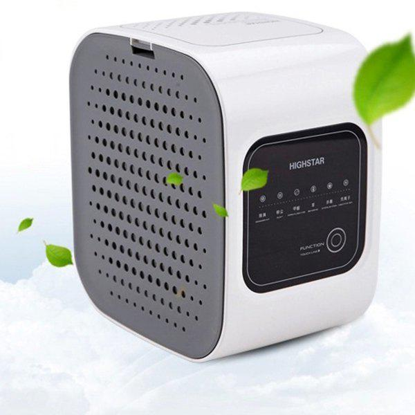 Discount Mini Air Purifier Smart Living Space Cleaner for PM2.5 Smoke Formaldehyde