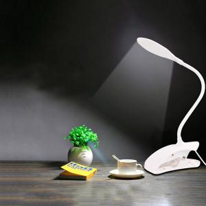 LED Eyeshield Table Lamp with Clamp Base -