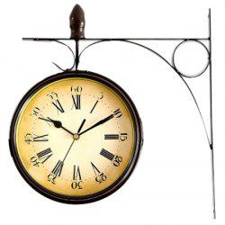Vintage Practical Double Side Clock -