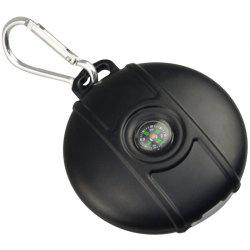 Solar USB Rechargeable Pest Repeller with Compass + Keychain -