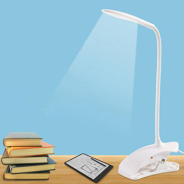 Discount LED Eyeshield Table Lamp with Clamp Base