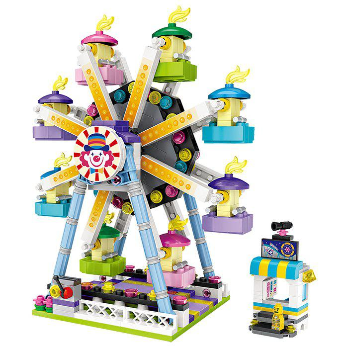 Trendy LOZ Amusement Park Ferris Wheel Mini Building Block Toys