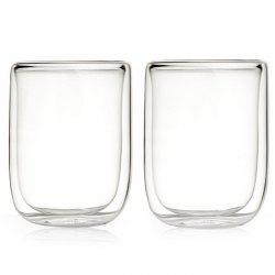 17 Pin 400ml Large Capacity Double-layer Glass Cup 2pcs -