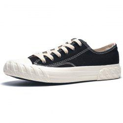 Trendy Solid Lace-up Causal Shoes for Men -