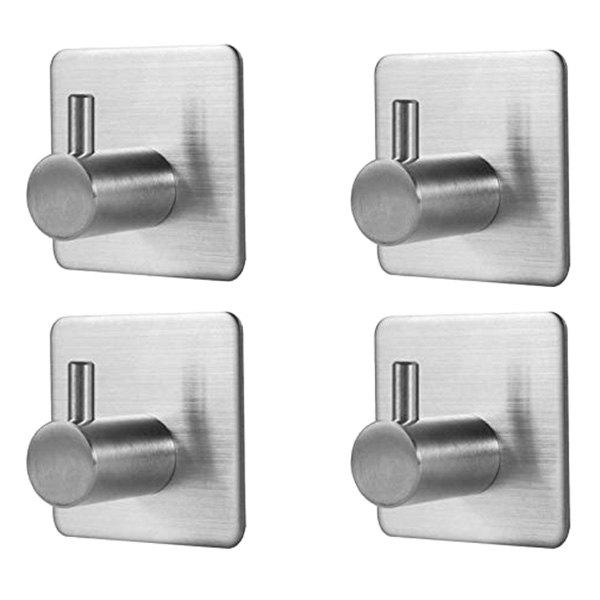 Outfit HK102 Stainless Steel Decorative Wall Hanger Hook 4PCS