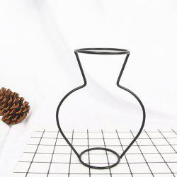 Creative Simple Iron Mini Flower Frame Vase Decoration -