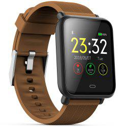 Q9 Colorful Screen Waterproof Sports Smart Watch for Android / iOS with Heart Rate Monitor Blood Pressure Functions -