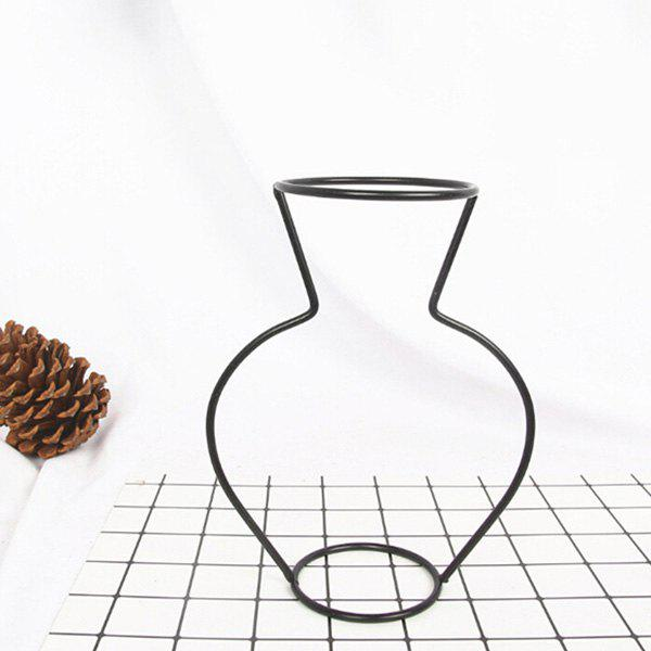 Cheap Creative Simple Iron Mini Flower Frame Vase Decoration