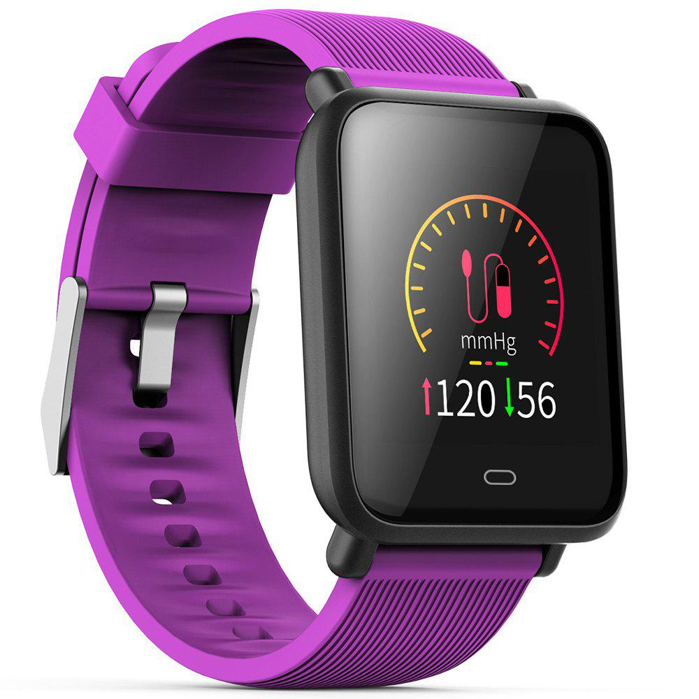 Unique Q9 Colorful Screen Waterproof Sports Smart Watch for Android / iOS with Heart Rate Monitor Blood Pressure Functions